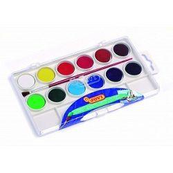 JOVI Vodové farby - sada 12ks so štetcom - 108 g