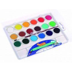 JOVI Vodové farby - sada 18ks so štetcom - 162 g