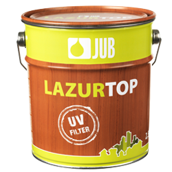 JUB LAZURTOP - hrubovrstvá lazúra na drevo - 11 - biely - 0,75 L