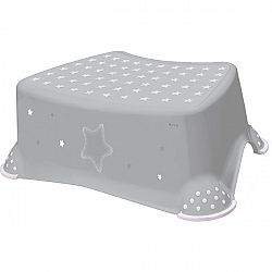 Keeeper Detská stolička Stars sivá, 40,5 x 28,5 x 14 cm