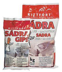 KITTFORT Sadra modelárska - biela - 1 Kg