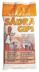 KITTFORT Sadra štukatérska - šedá - 3 Kg