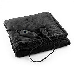 Klarstein Dr. Watson XL, vyhrievacia deka, 120 W, 180 x 130 cm, prateľná, mikroplyš, čierna