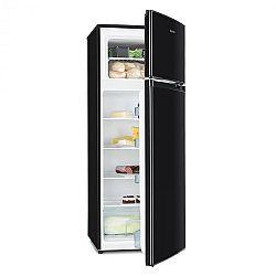 Klarstein Height Cool Black, čierna, kombinácia chladničky s mrazničkou, 171/41 l, 2-dverová, A++