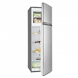 Klarstein Height Cool Silver, strieborná, kombinácia chladničky s mrazničkou, 171/41 l, 2-dverová, A++