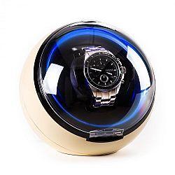Klarstein St. Gallen Deux, naťahovač na hodinky, 4 režimy, LED, krémový