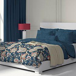 Kvalitex Bavlnené obliečky Olympia petrolejová, 200 x 200 cm, 2 ks 70 x 90 cm