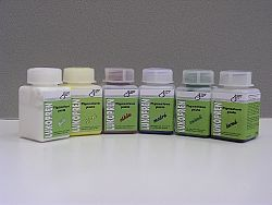 LUČEBNÍ Lukoprén pigmentové pasty pre zafarbenie Lukoprenu - zelená - 100 g