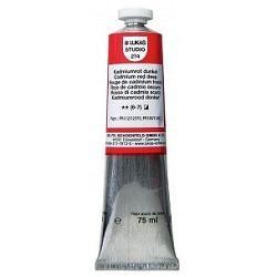 LUKAS Olejové farby STUDIO - umelecká olejová farba - Cadmium red deep  2740009 - 37 ml