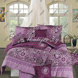 Matějovský bavlnené obliečky Afrodita Violet, 200 x 210 cm, 70 x 90 cm