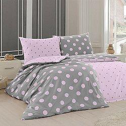 Matějovský Bavlnené obliečky Ponte Pink, 140 x 200 cm, 70 x 90 cm