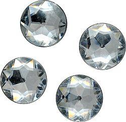 MEYCO Akrylové diamanty kryštálové   - 130ks - 8mm