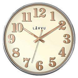 Nástenné hodiny LAVVU HOME White LCT1160, 32cm