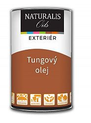 Naturalis Oils Farebný Tungový olej na drevo - čínsky olej na drevo - 1103 - rustikálny dub - 10 L