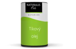 Naturalis Oils Tíkový olej na drevo - farebný - 2101 - biely - 10 L