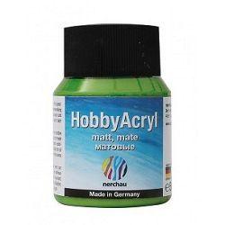 Nerchau Hobby Akryl mat - akrylová farba  - bambusovo žltá 362601 - 59 ml