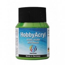 Nerchau Hobby Akryl mat - akrylová farba  - májovo zelená 362511 - 59 ml