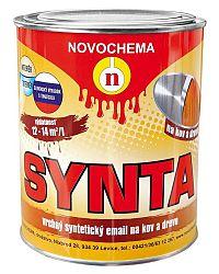 NOVOCHEMA Email S 2013 SYNTA- Syntetická vrchná farba - 8300 - červená korálová - 5 Kg