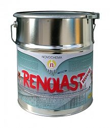 NOVOCHEMA Renolast nový - asfaltohliníková farba na strechu - 9110 - strieborná - 3 Kg