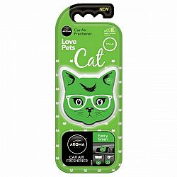 Osviežovač Aroma Car Cat fancy green