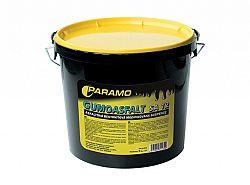 PARAMO Gumoasfalt SA 12 - asfaltová farba na plochú strechu - cierna - 10 Kg
