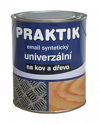 Praktik Email Praktik S 2013 - Syntetická farba - 4550 - návestná modrá - 2,5 L
