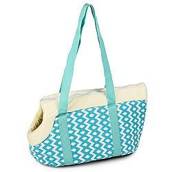 Prepravná taška pre domácich miláčikov Animal space, modrá
