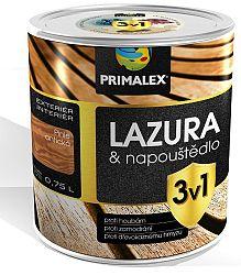 PRIMALEX Primalex lazúra 3v1 - lazúra a napúštadlo proti škodcom a hubám - borovica lesná - 0,75 l