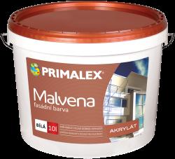 PRIMALEX Primalex Malvena - fasádna akrylátová farba - biela - 10 l