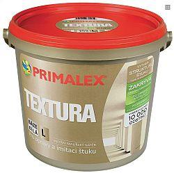 PRIMALEX Primalex Textúra - farba napodobnujúca štukovú štruktúru - biela - 5 l