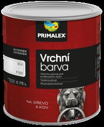 PRIMALEX Primalex - vrchná syntetická farba - 0100 - biela matná - 0,75 L