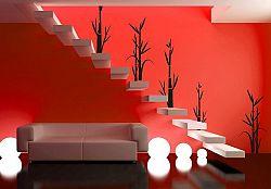 Šablóny na stenu Šablona na stenu - Bambus 5ks - 3043x - od 64do95cm