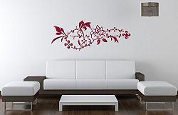 Šablóny na stenu Šablona na stenu - Ruža ornament - 3222x - 36 x 95cm
