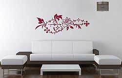 Šablóny na stenu Šablona na stenu - Ruža ornament - 3222x - 53 x 140cm
