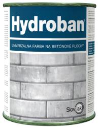 SLOVLAK Hydroban - farba na betón - 0100 - biely - 0,75 kg
