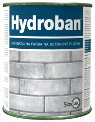 SLOVLAK Hydroban - farba na betón - 0660 - oker - 2,5 Kg