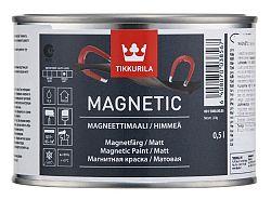 Tikkurila MAGNETIC - magnetická farba na steny - sivá - 0,5 L