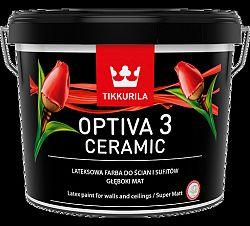 Tikkurila Optiva 3 Ceramic super matt - 263 odtieňov interiérovej farby (zákazkové miešanie) - TVT F448 - Lotus - 0,9 L