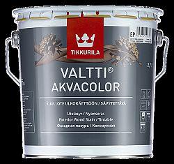 Tikkurila Valtti akvacolor - tenkovrstvová lazúra na drevo s olejmi (ZÁKAZKOVÉ MIEŠANIE) - TVT 5065 - Suvi - 2,7 L
