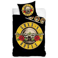 TipTrade Bavlnené obliečky Guns N´ Roses, 140 x 200 cm, 70 x 80 cm