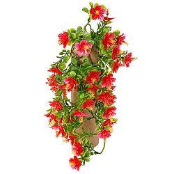 Umelá kvetina Ibištek červená, 40 cm
