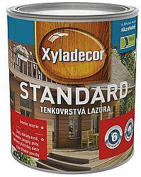 Xyladecor Xyladecor Standard - tenkovrstvová lazúra na drevo - dopredaj - indický tík - 5 l