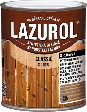 BARVY A LAKY HOSTIVAŘ, a.s. LAZUROL Classic S 1023 - lazúra na drevo - 62 - borovica - 2,5 L