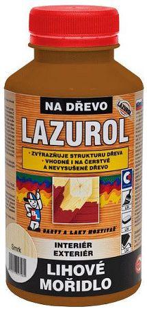 BARVY A LAKY HOSTIVAŘ, a.s. Liehové moridlo Lazurol - moridlo na drevo - gaštan svetlý - 0,5 L