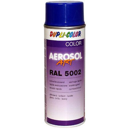 DUPLI COLOR Aerosol-Art - rýchloschnúci akrylát v spreji - Ral 1018 - žltá zinková - 400 ml