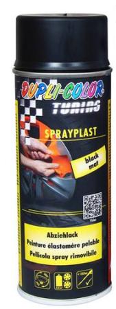 DUPLI COLOR T - SPRAYPLAST - striekacia fólia  - Carbon lesk - 400 ml