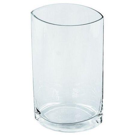 Sklenená váza Gilley číra, 25 cm