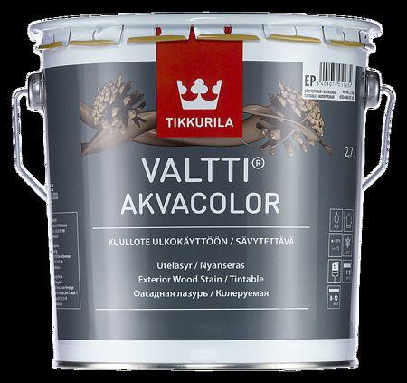 Tikkurila Valtti akvacolor - tenkovrstvová lazúra na drevo s olejmi (ZÁKAZKOVÉ MIEŠANIE) - TVT 5068 - Näre - 2,7 L
